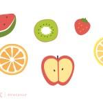 フルーツのイラスト